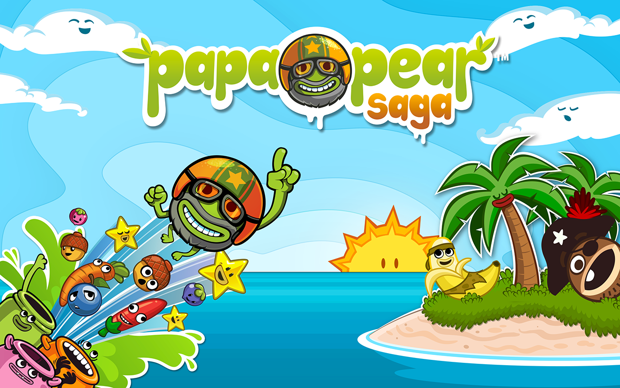 Papa Pear Saga- screenshot