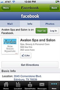 Avalon Spa and Salon- screenshot thumbnail