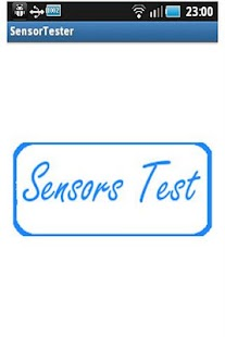 Sensor Tester - screenshot thumbnail
