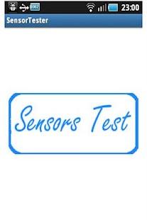 Sensor Tester - screenshot thumbnail