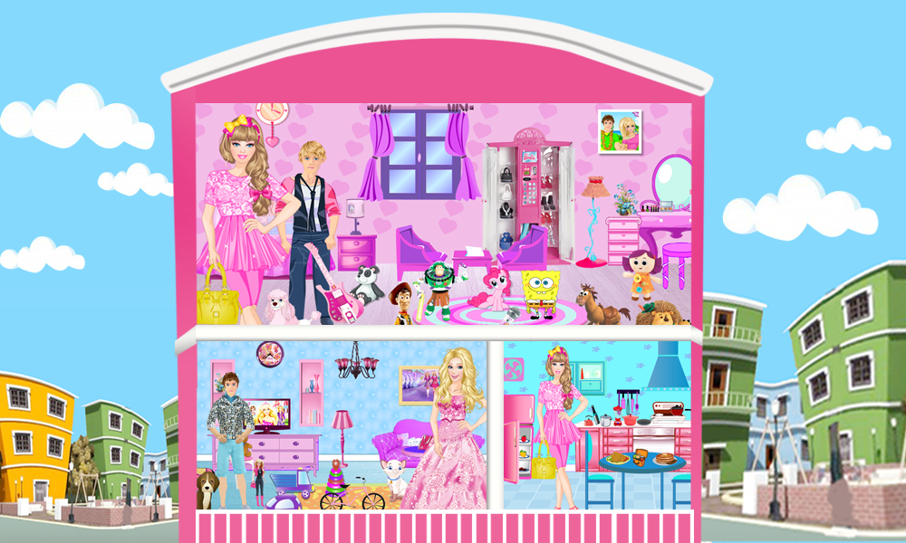 Christmas Doll House Decorating Games