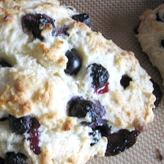 Emily's Blueberry Scones.