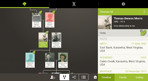 Ancestry - screenshot thumbnail