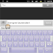 Simple Lavender! Keyboard Skin