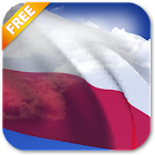 3D Poland Flag Live Wallpaper icon