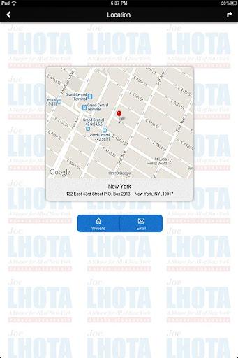 玩教育App|Joe Lhota Mayor for All of NY免費|APP試玩