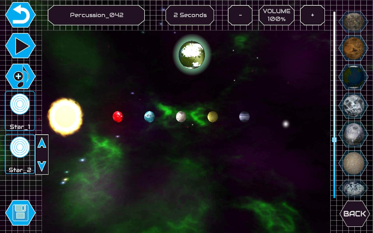 DJ Space: Free Music Game - screenshot