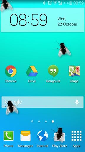 苍蝇在手机有趣的笑话