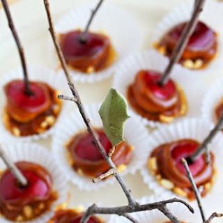 Mini Caramel Apples.