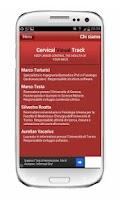 Screenshot of Cervical/Neck exercises