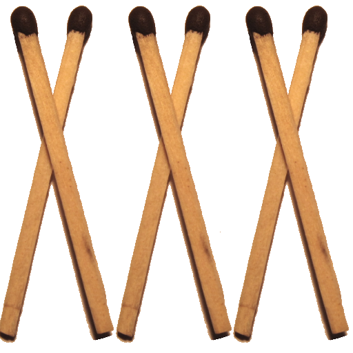 Cross Matchsticks