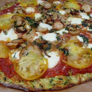 Zucchini Crust Pizza!
