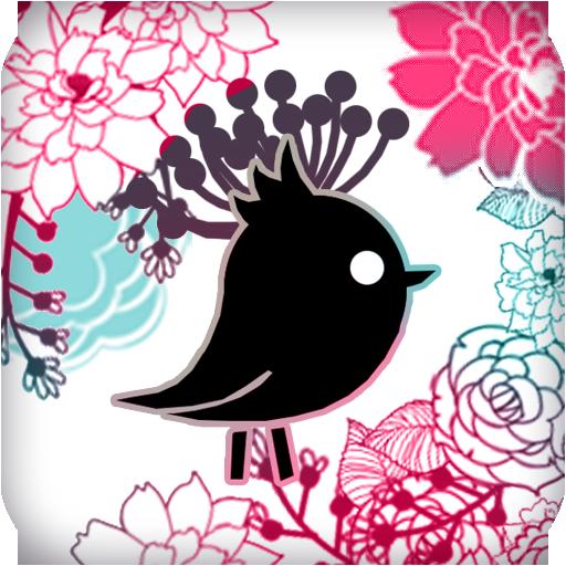 个人化の[カカオトークテーマ] 花鳥と香り木 LOGO-記事Game