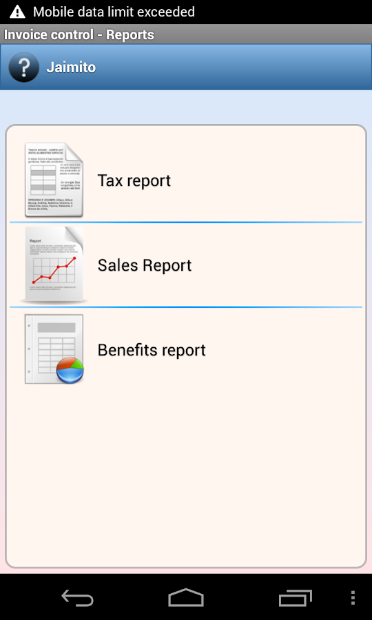 Invoice Sheet Template Word Invoice Control  Android Apps On Google Play Acknowledge The Receipt Of This Email with Asda Price Guarantee Enter Receipt Excel Invoice Control Screenshot Evernote Receipts
