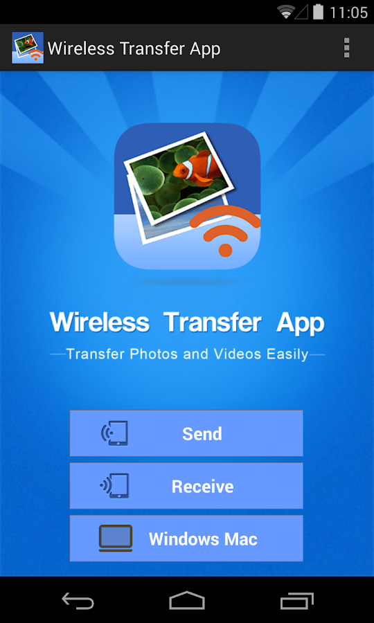 Wireless Transfer App - Free- screenshot