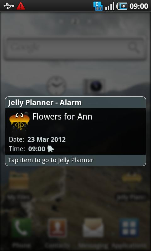 Jelly Planner- screenshot
