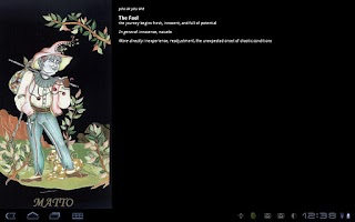Screenshot of Tarot of the New Moon free