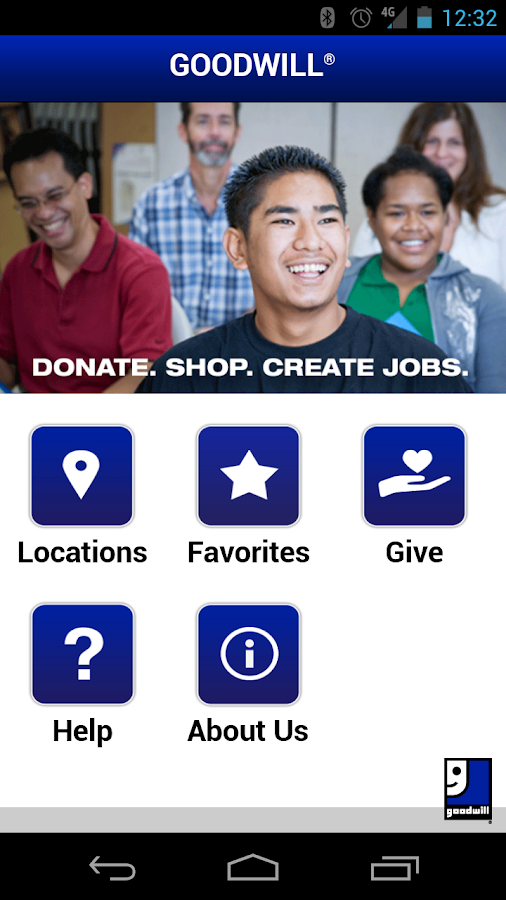 Goodwill Locator - screenshot