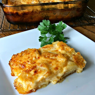 Steakhouse Potato Gratin