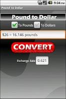 Screenshot of Pound to Dollar (Ad Free!)