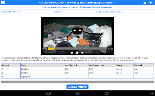 Mobile Learning & Training- screenshot thumbnail