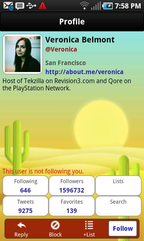 TwitPal for Twitter - screenshot