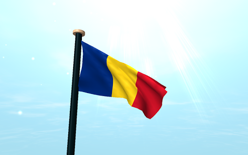 玩免費個人化APP|下載羅馬尼亞旗3D免費動態桌布 app不用錢|硬是要APP