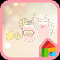pink lemonade dodol theme icon