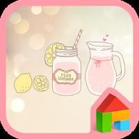 pink lemonade dodol theme 4.1