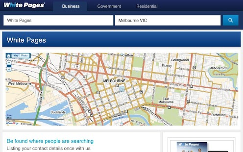 White Pages® Australia - screenshot thumbnail