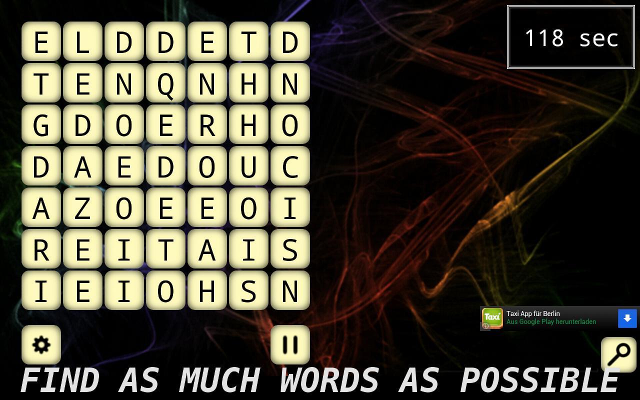 Word Shuffle- screenshot