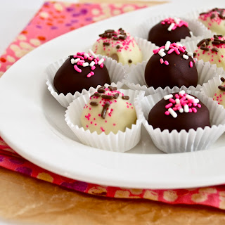 Neopolitan Oreo Cookie Dough Truffles