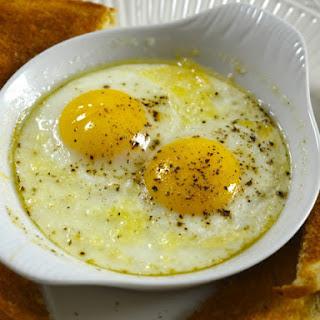 Baked Eggs.