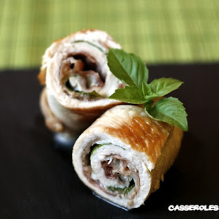 Italian Turkey Roll-up