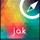 Jakarta Offline Karte Führe icon