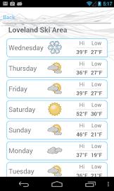 Ski and Snow Report Screenshot 4