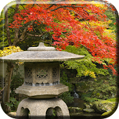 Autumn Zen Garden wallpaper