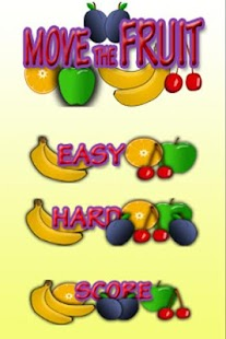 Move the fruit - screenshot thumbnail