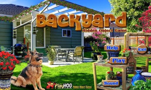 Backyard - Free Hidden Objects