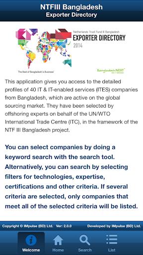 NTFIII Bangladesh Exporters