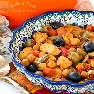 Spanish Style Chicken Stew.