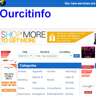 OurCitiInfo- screenshot thumbnail