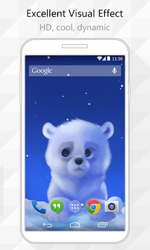 Cute Bear Live Wallpaper