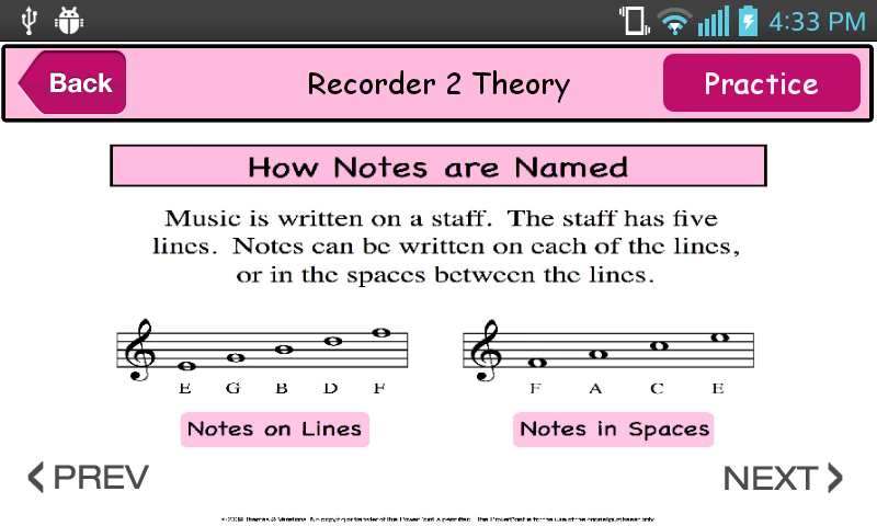 Learn and Play Recorder 2- screenshot