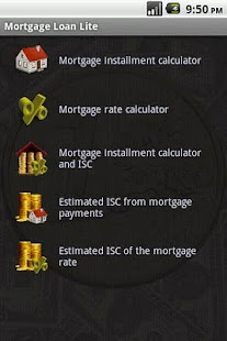Mortgage Loan Lite - screenshot thumbnail