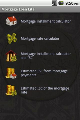 Mortgage Loan Lite - screenshot