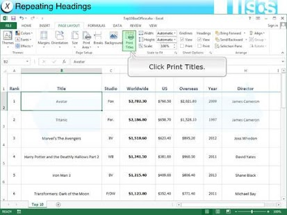 EasyGuides for Excel 2013- screenshot thumbnail