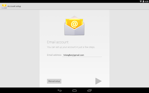 Email - screenshot thumbnail