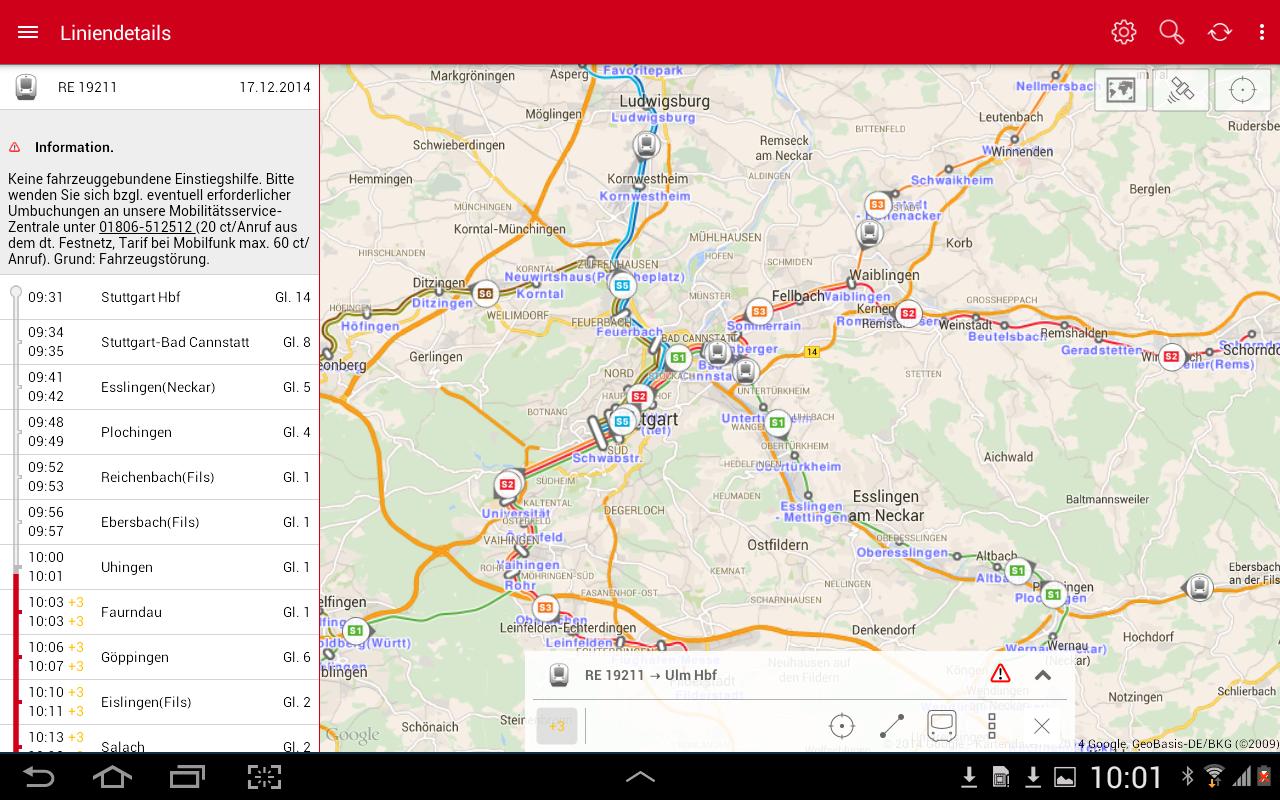 Navi SBahn Stuttgart Android Apps On Google Play - Germany map stuttgart