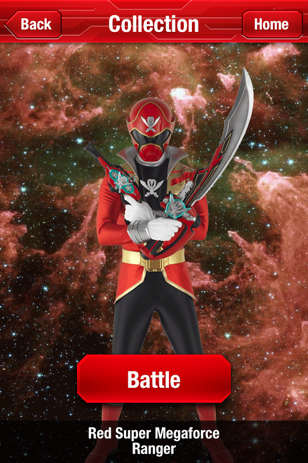POWER RANGERS SCANNER - screenshot